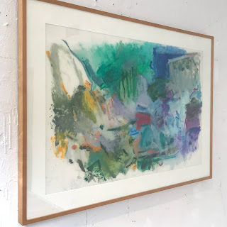 Jan Baltzell Signed Painting on Vellum