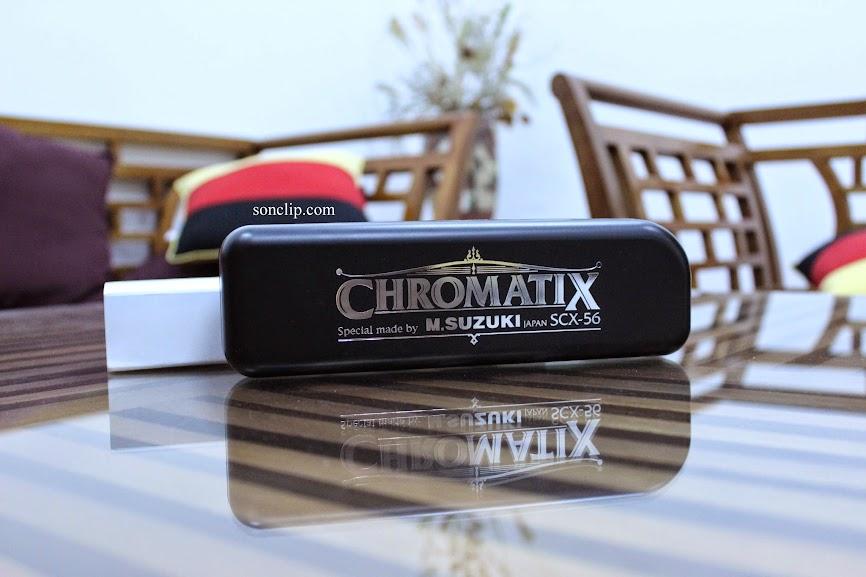 Kèn Harmonica - Suzuki SCX-56