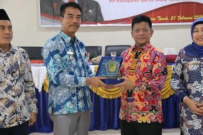 Dikunjungi Anggota DPR, Pemkab Barut Paparkan Pencapaian Pembangunan