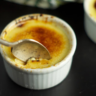Single Serving Creme Brulee.
