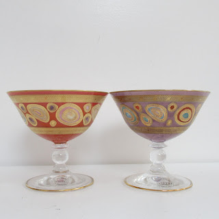 Vietri Regalia Dessert Bowl Pair