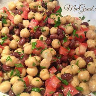 My Amazing Garbanzo BeanChickpea (Chickpea) & Tomato Salad.