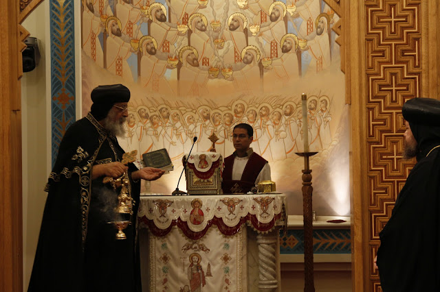 His Holiness Pope Tawadros II visit to St. Mark LA - _MG_0547.JPG