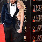 OIC - ENTSIMAGES.COM - Chris Robshaw and Camilla Kerslake at the The Olivier Awards in London 12th April 2015  Photo Mobis Photos/OIC 0203 174 1069