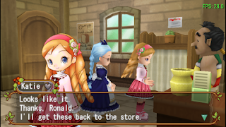 Event di dalam Harvest Moon Hero of Leaf Valley The Tale of Harvest Godddess Dress [ HM HoLV ]