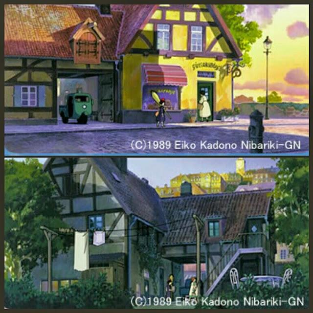 Majo Kiki's delivery service película