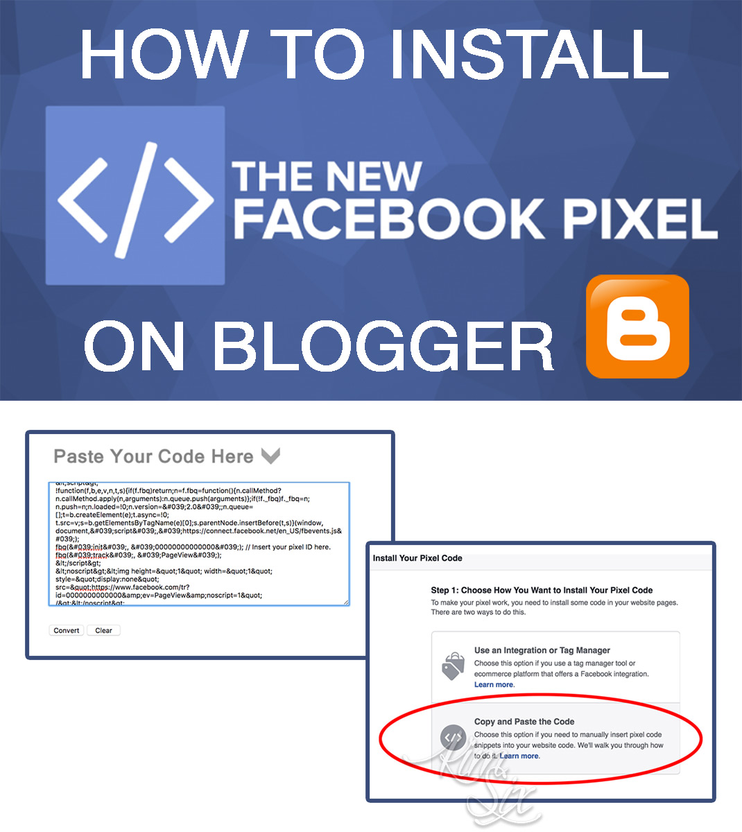 How to Install the Facebook Tracking Pixel On Blogger Blogs