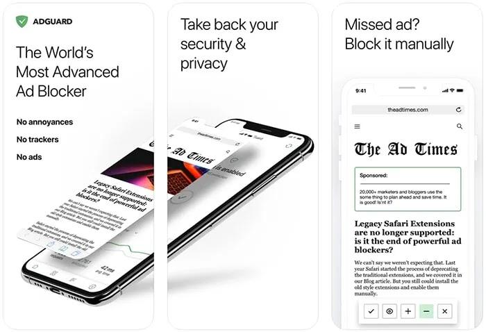 Ad Blockers Iphone Ad Guard. حراس إعلانات آيفون