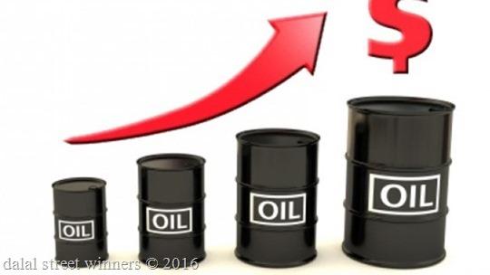 Oil hits six-week high