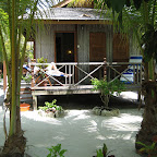 Our cabin at Sipadan Mabul Resort (SMART)