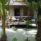 Our cabin at Sipadan Mabul Resort (SMART)