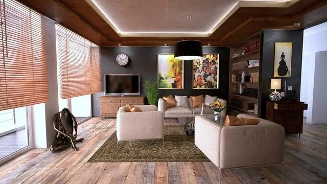Austin apartment living room
