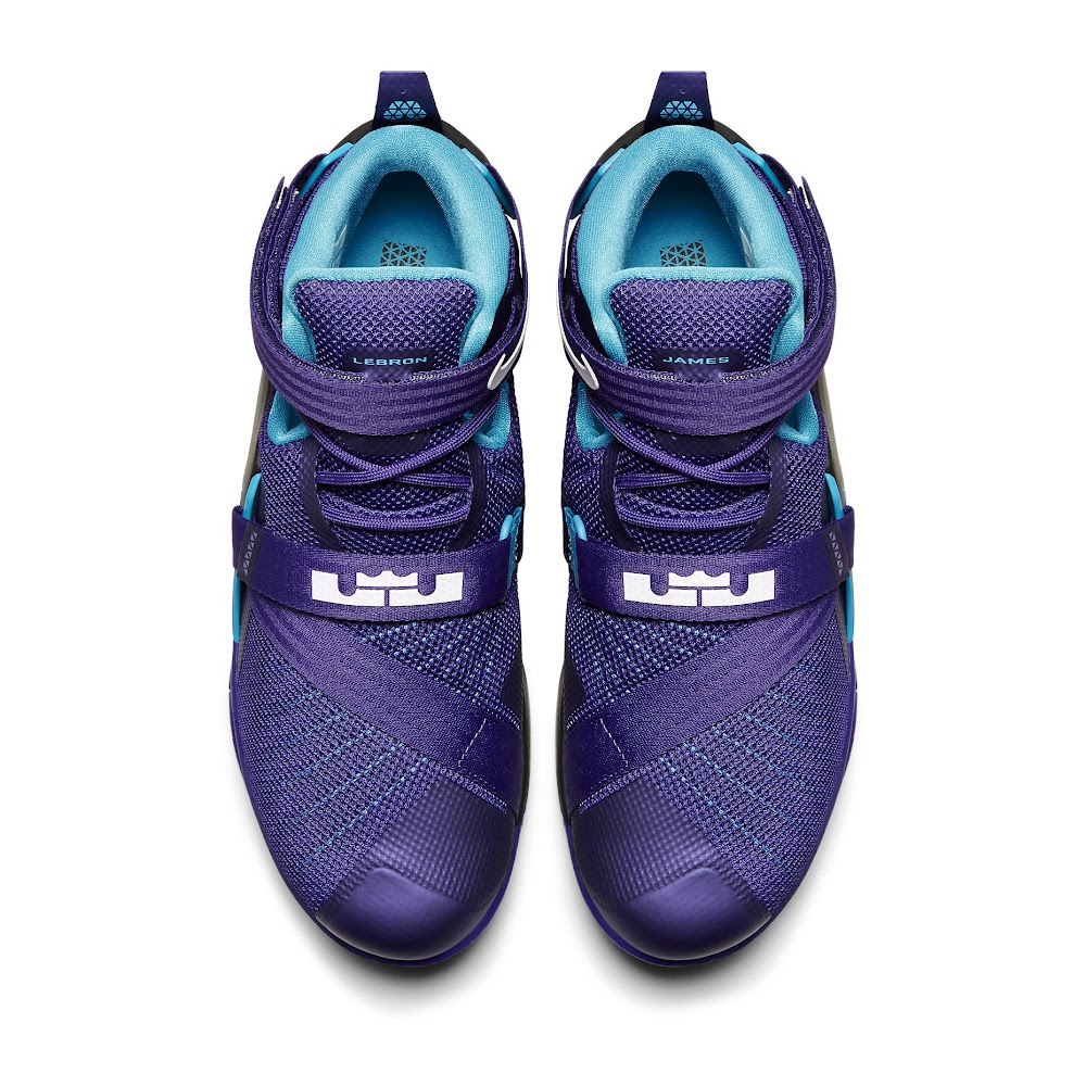 online store beec8 df1d0 Available Now Nike LeBron Soldier 9 Summit Lake Hornets .