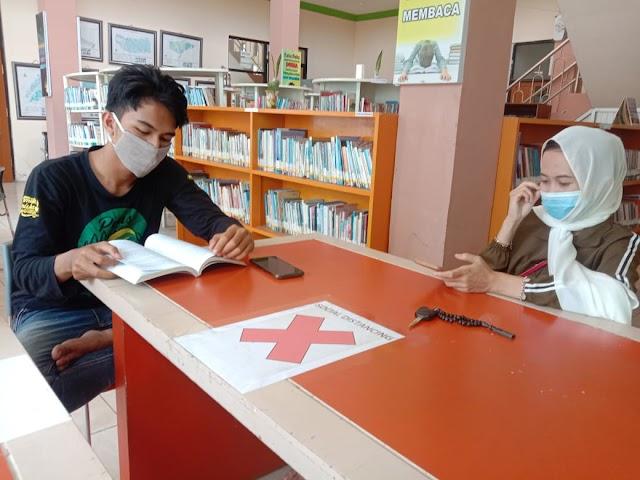 Pengunjung Perpustakaan Menurun, Pengelola tetap Terapkan Prokes