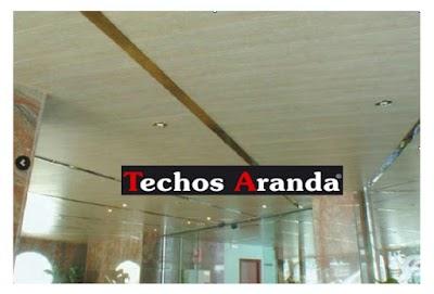 Placas Techo Desmontable Madrid