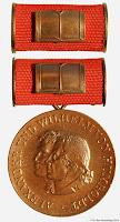 270 Humboldt Bronze medailles