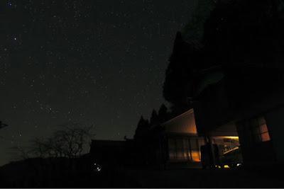 デジカメで撮った星空の写真