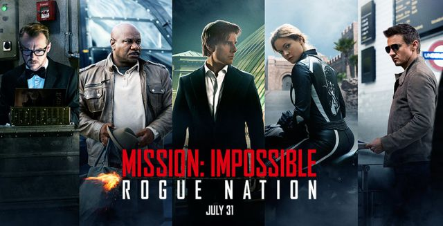 Mission: Impossible Rogue Nation - 2015 En İyi Filmler