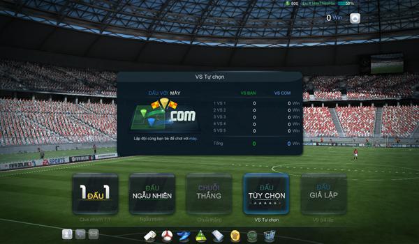 FIFA Online 3: Chế độ đấu xếp hạng và đấu trọng tài 4