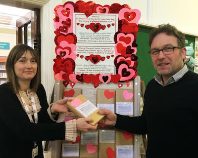 Library offers a blind date with a book