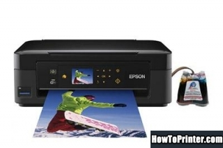 Epson XP-406 Waste Ink Pads Counter Reset Key