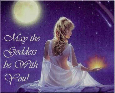 Goddess Be With You, Goddesses