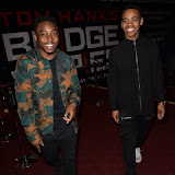 OIC - ENTSIMAGES.COM - Dee Kartier and Jovian Wade at the  Mandem on the Wall: Wall of Comedy - premiere in London 17th November 2015 Photo Mobis Photos/OIC 0203 174 1069