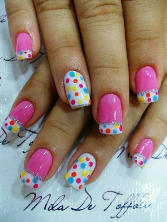 Stylish Nail Art Ideas For Happy Birthday ( A second part )   Fashionte