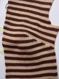 Вертикальная вытачка в вязании 18