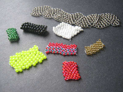 Peyote Stitch Practice Strips