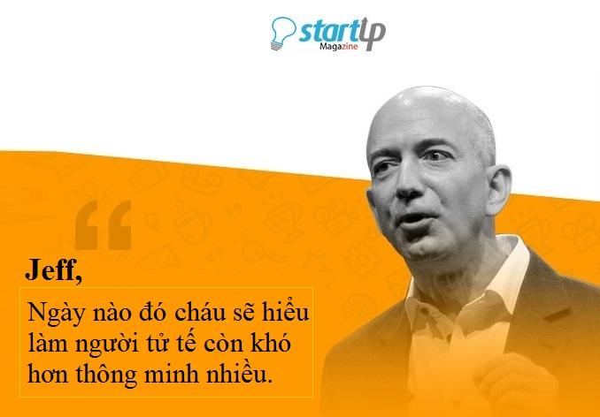 Bài học thành công từ Jeff Bezos ông chủ Amazon