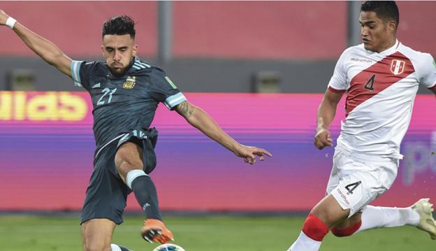 Hasil Pertandingan Peru vs Argentina