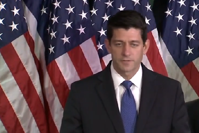 Paul Ryan offers himself as the 'new rock' on which the GOP will be founded