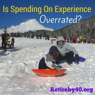 Is Spending On Experience Overrated?