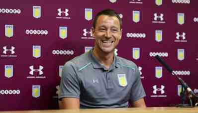 John Terry Named Aston Villa Captain