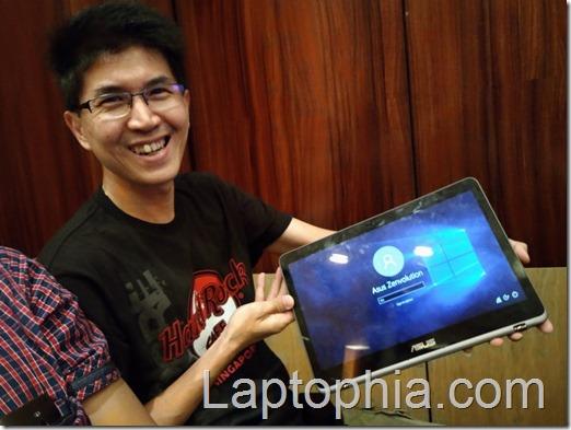 Review Asus Zenbook Flip UX360UA