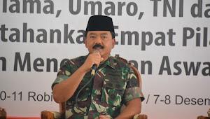 Danrem 071/Wijayakusuma Hadiri Silatnas Ulama, Umaro, TNI dan Polri Di Kajen Kab. Pekalongan