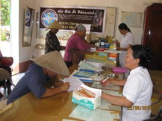 Caritas Phát Diệm tổ chức khám bệnh phát thuốc cho người nghèo
