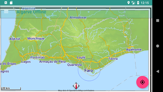 mapa algarve google Offline Map Algarve, Portugal   Apps on Google Play mapa algarve google
