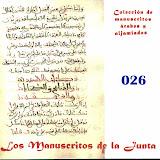 026 - Exte ex alquiteb quextá en él conto de Du-l-Carnáin.