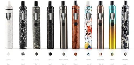 eGo AIO 01 new1 thumb%25255B2%25255D - 【新製品】「Joyetech eGo AIO」のカラーバリエーションモデルが登場、クラック柄、ウッド、カモフラなど【VAPE/電子タバコ/ジョイテック】