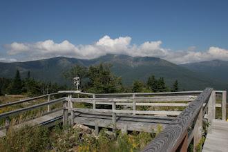 Photo: Blick auf den Mt. Washington