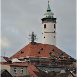 Oprava střechy kostela 16.10.2014