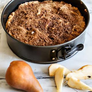 Perfect Pear Coffee Cake