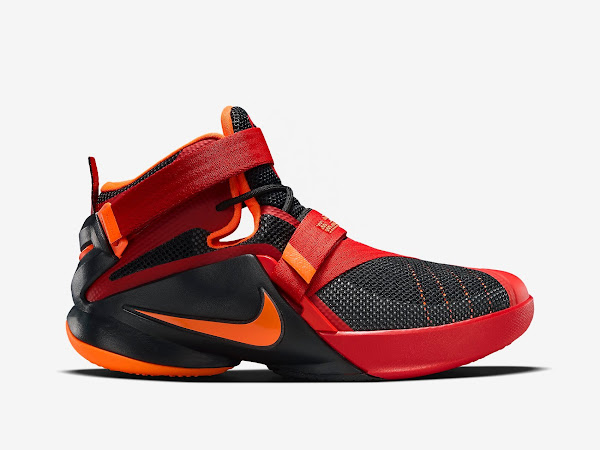 selected material online here closer at Nike LeBron Soldier 9 Gets a New Colorway Just For Kids ...