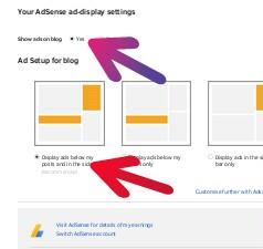 Add Adsense Ads in Blogger