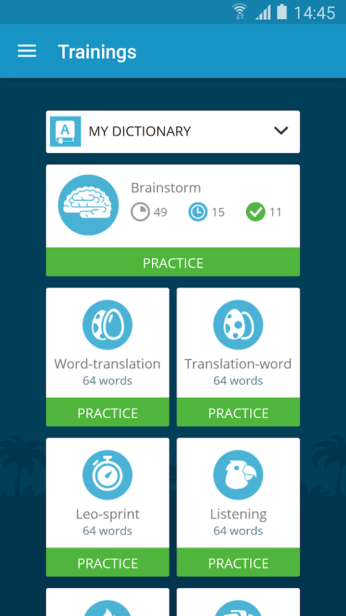 English with Lingualeo- screenshot
