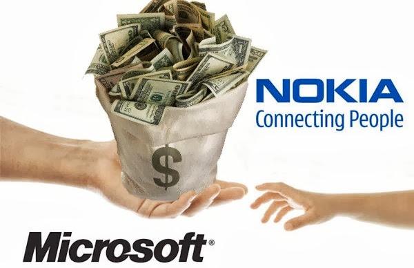 Microsoft compró Nokia