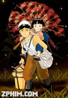 Mộ Đom Đóm - Grave of the Fireflies (1988) Poster