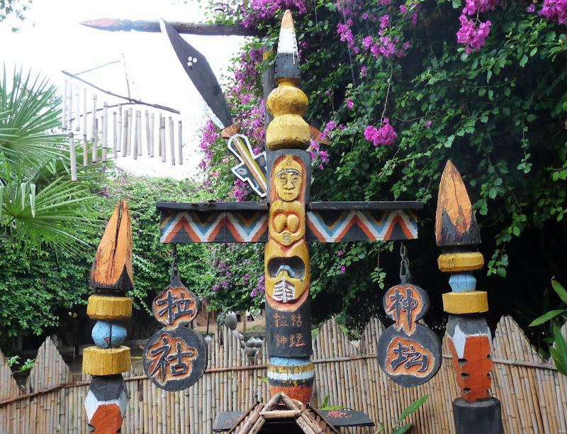 CHINE.YUNNAN.KUN MING Village des minorités 2 - P1270646.JPG